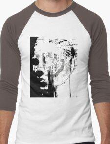 masked face Men's Baseball ¾ T-Shirt