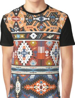 Seamless colorful pattern in tribal style Graphic T-Shirt
