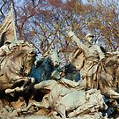 Cavalry Charge - U.S. Grant Memorial by John Schneider
