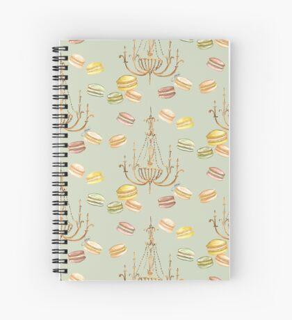 Macarons in Pastel Spiral Notebook