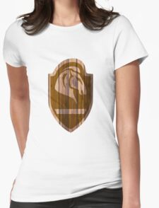 Whiterun Hold Shield Womens Fitted T-Shirt