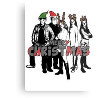 Merry Christmas from The Scooby Gang! Metal Print