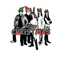 Merry Christmas from The Scooby Gang! Photographic Print