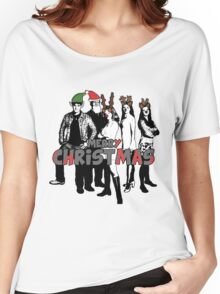 Merry Christmas from The Scooby Gang! Women's Relaxed Fit T-Shirt