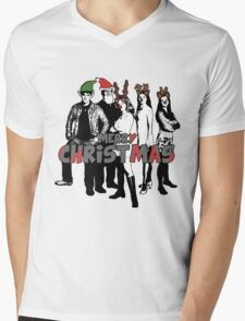 Merry Christmas from The Scooby Gang! Mens V-Neck T-Shirt