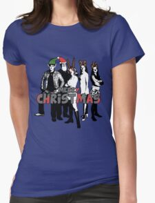 Merry Christmas from The Scooby Gang! Womens Fitted T-Shirt