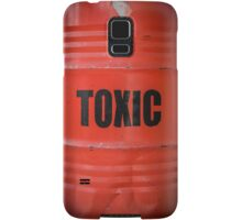 Toxic Waste Barrel Samsung Galaxy Case/Skin