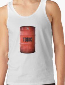 Toxic Waste Barrel Tank Top