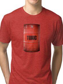 Toxic Waste Barrel Tri-blend T-Shirt
