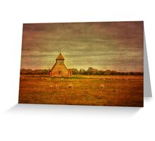 St Thomas Becket Fairfield Greeting Card