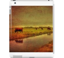 Cows On The Marsh iPad Case/Skin