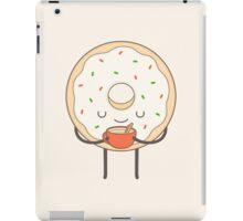 donut loves holidays iPad Case/Skin