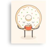 donut loves holidays Metal Print