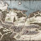 Lands of Shadowgate Map by zojoi