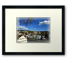 View from Lindenhof Framed Print
