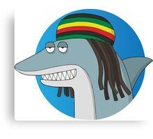 Reggae Shark Canvas Print