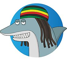 Reggae Shark Photographic Print