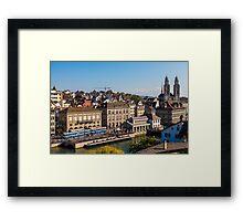 ZURICH 06 Framed Print