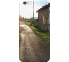 Heading straight... iPhone Case/Skin
