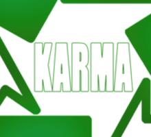 Recycle Karma Sticker