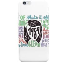 1989 iPhone Case/Skin