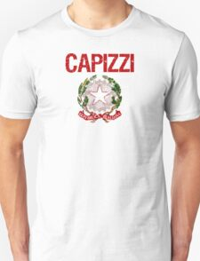 Capizzi Surname Italian T-Shirt