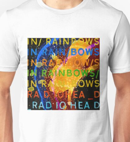 In Rainbows Artwork Reproduction using watercolours, ink and photoshop Unisex T-Shirt