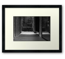 First steps Framed Print