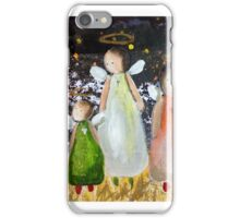 angels for Christmas 2014 iPhone Case/Skin