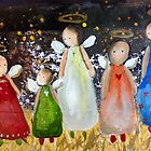 angels for Christmas 2014 by Gerda  Smit