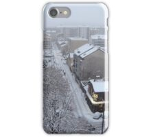 Town under the snow iPhone Case/Skin