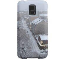 Town under the snow Samsung Galaxy Case/Skin