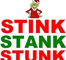 STINK STANK STUNK by Divertions