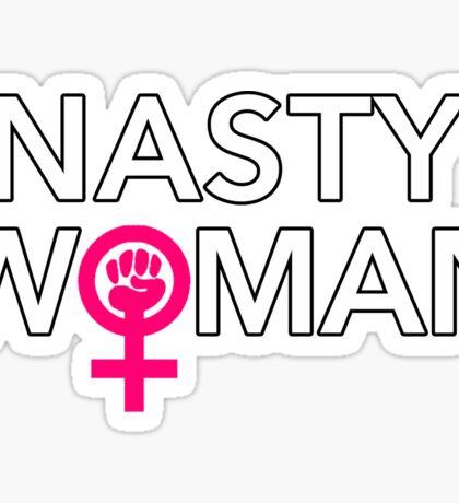 Powerful Nasty Woman Sticker