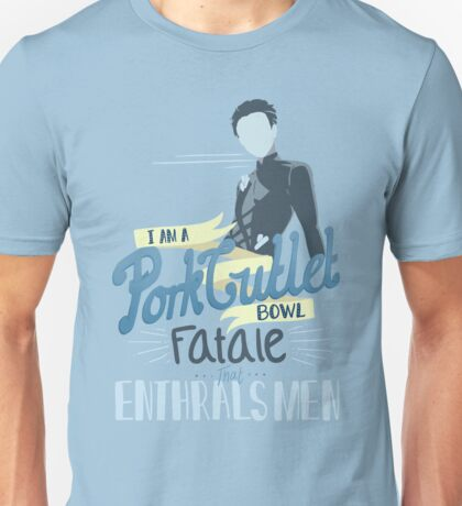 Pork Cutlet Bowl Unisex T-Shirt