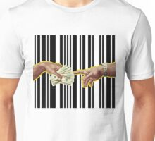 The Creation of Greed Unisex T-Shirt