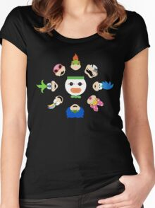 Simple Koopalings Women's Fitted Scoop T-Shirt