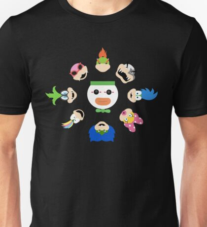 Simple Koopalings Unisex T-Shirt