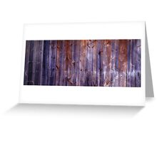Hut Wall - Wire Plain - Abstract Greeting Card