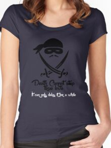Death Cannot Women's Fitted Scoop T-Shirt