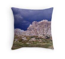 Burnt Snowgums - Falls Creek - Victoria Throw Pillow