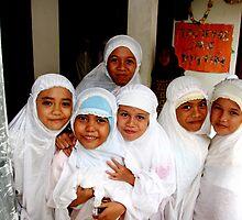 Little Girls of Parayagee Lamboro Girls Orphanage by Jacob Simkin