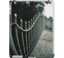 Lines and tracks iPad Case/Skin