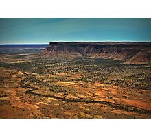 Kings Canyon ... from a helicopter. Photographic Print