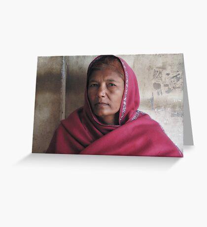 India #2 Greeting Card