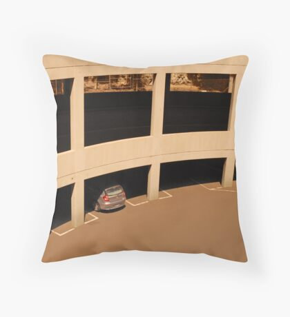 PARKING 2 Throw Pillow