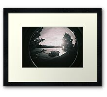 On a summer afternoon Framed Print