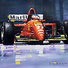 Ferrari Sport Cars paintings by Yuriy Shevchuk by Yuriy Shevchuk