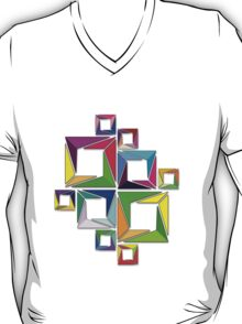 More Like Mondrian  [Contemporary Abstract Art] T-Shirt