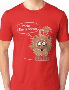 Moo. I'm a horse Unisex T-Shirt